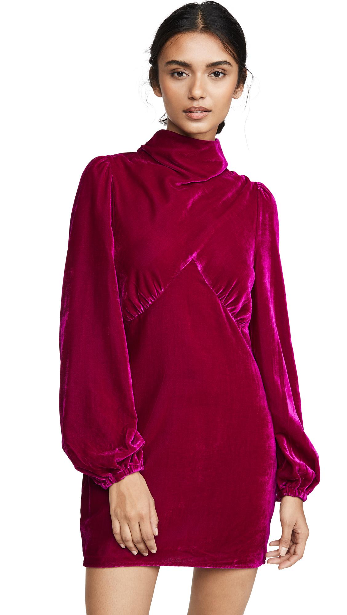 Buy Divine Heritage Mock Neck Mini Dress online beautiful Divine Heritage Clothing, Dresses