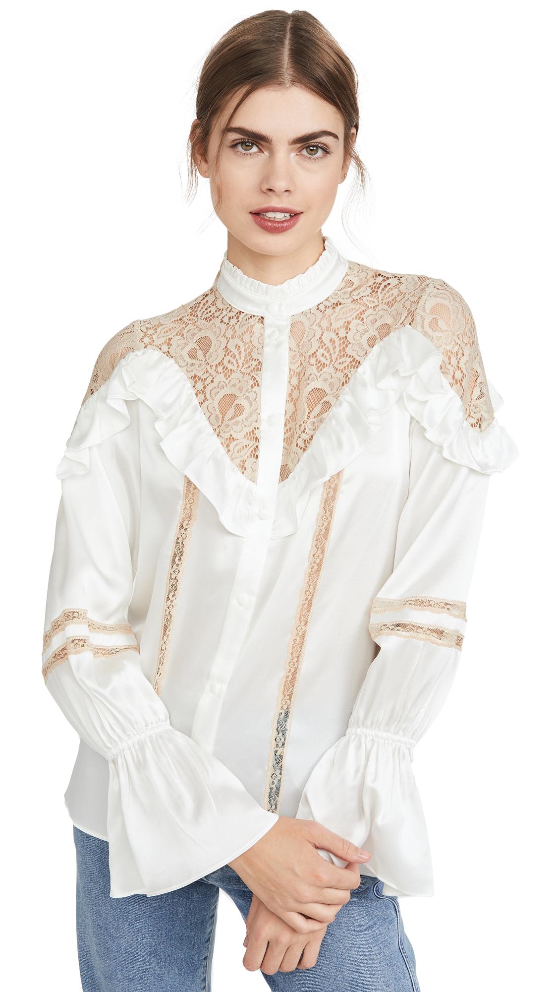 Buy Divine Heritage online - photo of Divine Heritage Long Sleeve Blouse