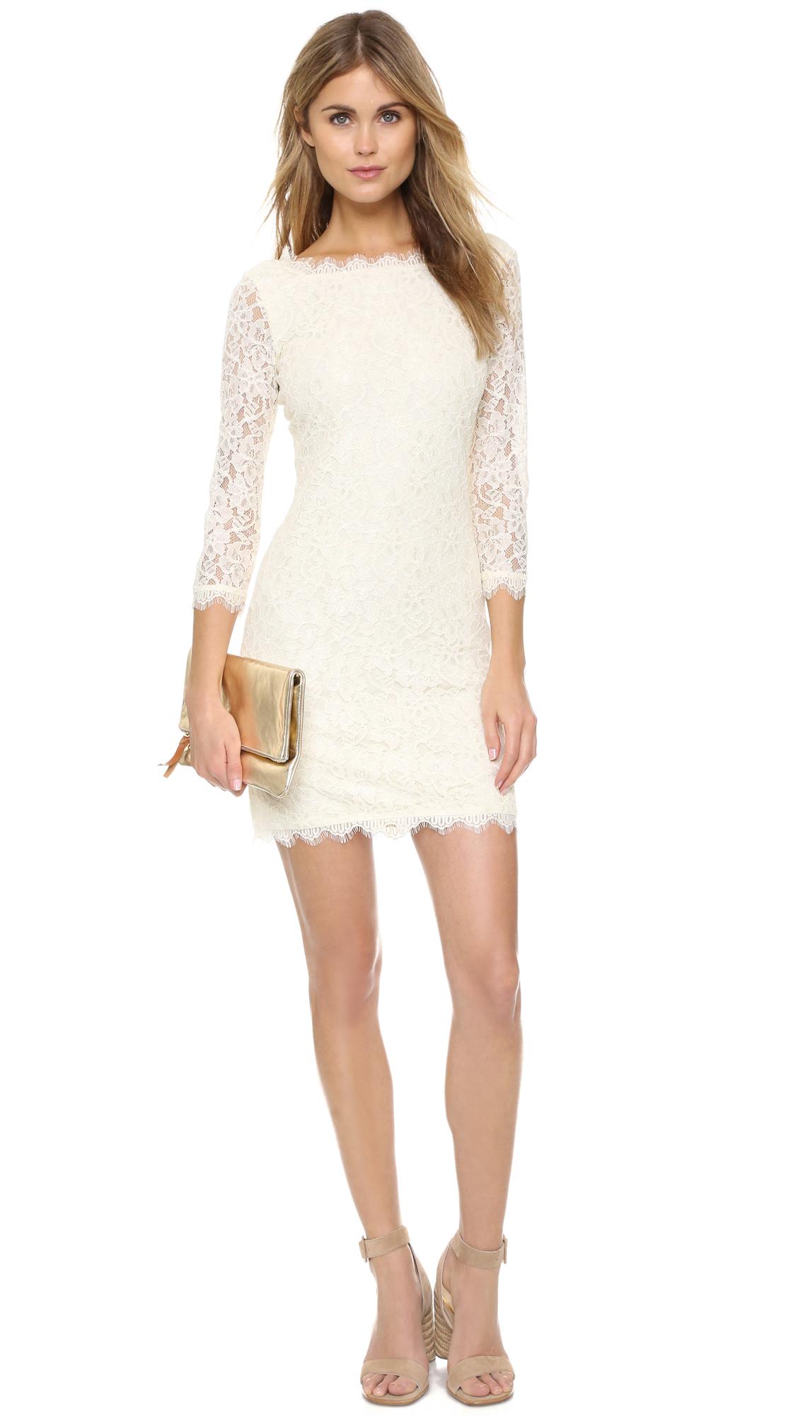 1f85a3fbe3 Diane von Furstenberg Zarita Lace Dress