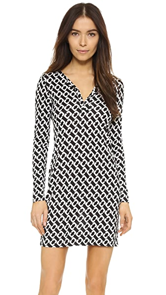 Diane von Furstenberg Reina Dress - Chain Link Medium