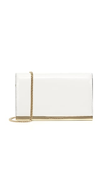Diane von Furstenberg Soiree Cross Body Bag - Optic White