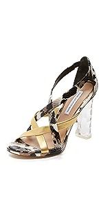 Ibiza Sandals                Diane von Furstenberg