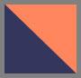 Orange/Midnight/Khaki Brown/Ta
