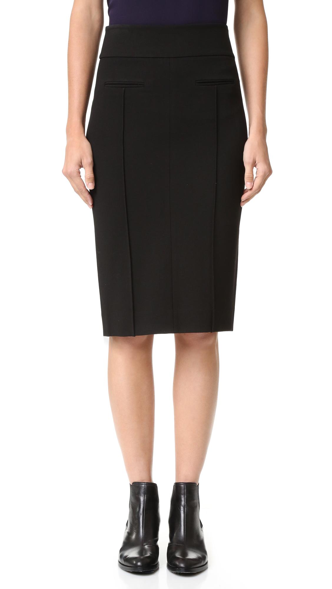 diane von furstenberg female diane von furstenberg dvf kayte skirt black