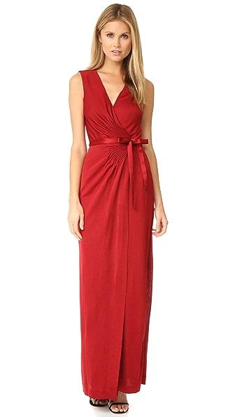 Diane Von Furstenberg Taley Wrap Dress - Garnet