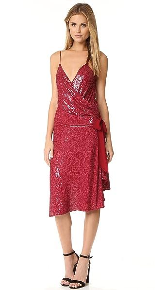 Diane von Furstenberg Brenndah Dress - Garnet