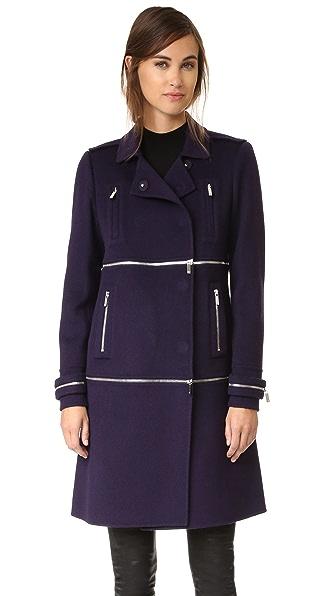 Diane von Furstenberg 1, 2, 3 Coat