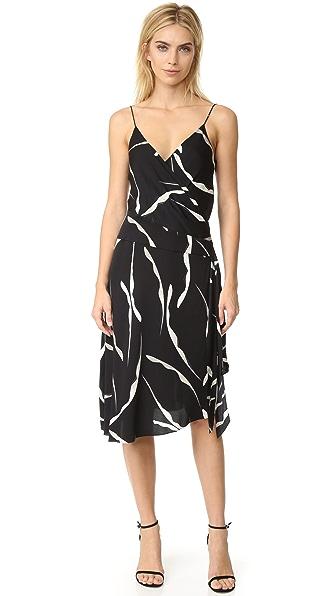 Diane von Furstenberg DVF Brenndah Dress - Gesture Black