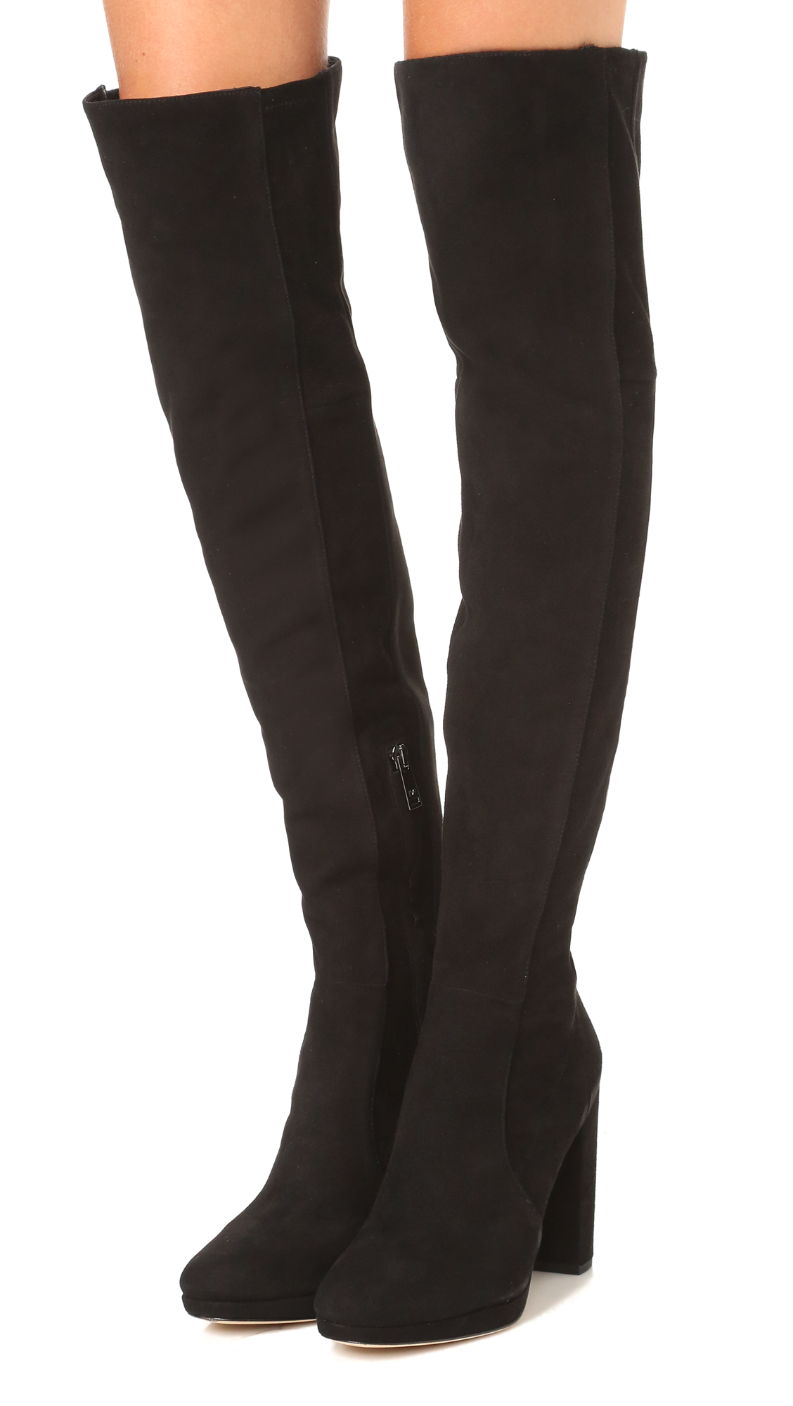Outlet Official Site Cheap 100% Original Diane von Furstenberg Woman Suede Over-the-knee Boots Size 7 Cheapest Cheap Sale Extremely Clearance Online Amazon Qu2YRcC