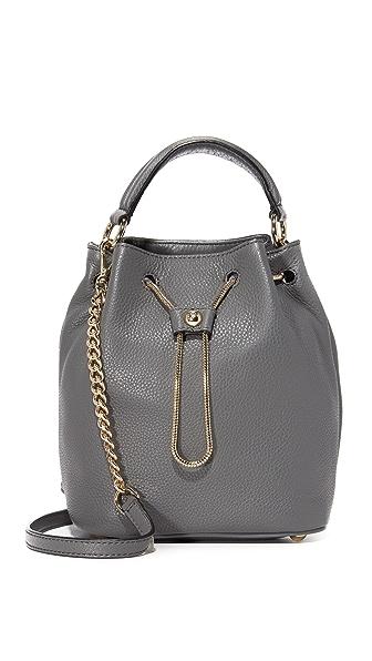 Diane von Furstenberg Love Power Drawstring Bucket Bag - Slate