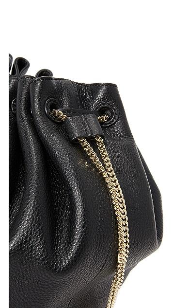 Diane von Furstenberg Love Power Large Drawstring Bucket Bag