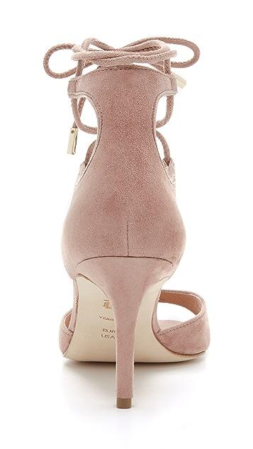 Diane von Furstenberg Rimini Lace Up Sandals