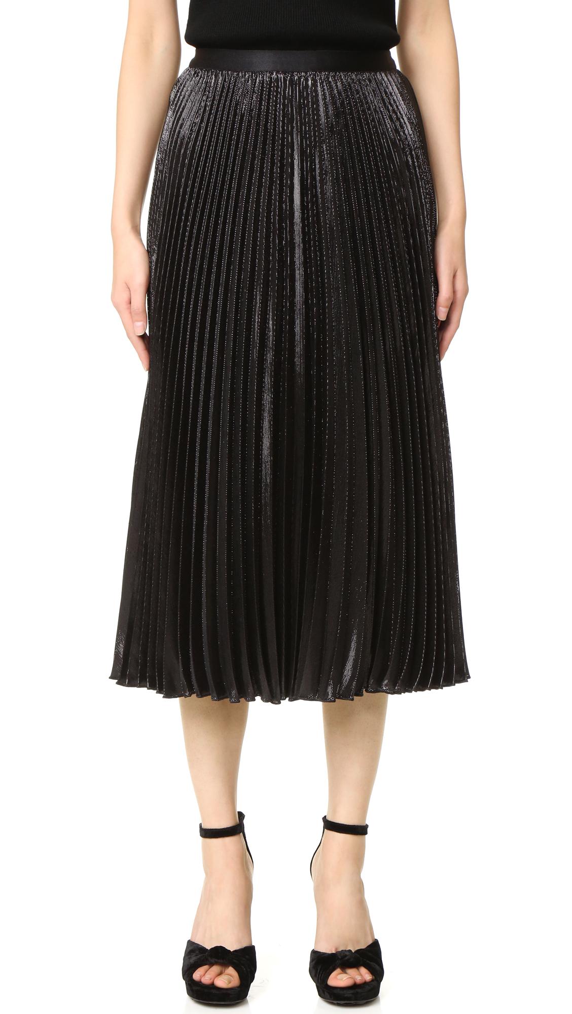 diane von furstenberg female diane von furstenberg heavyn skirt black