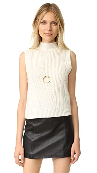 Diane von Furstenberg Ediva Sweater - Ivory