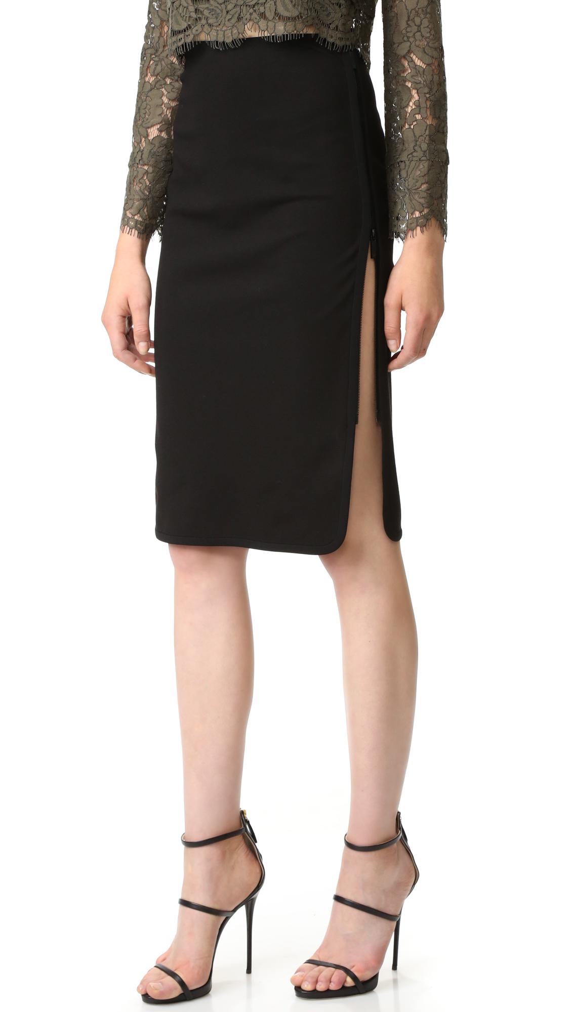 diane von furstenberg female diane von furstenberg noemi skirt blackblack