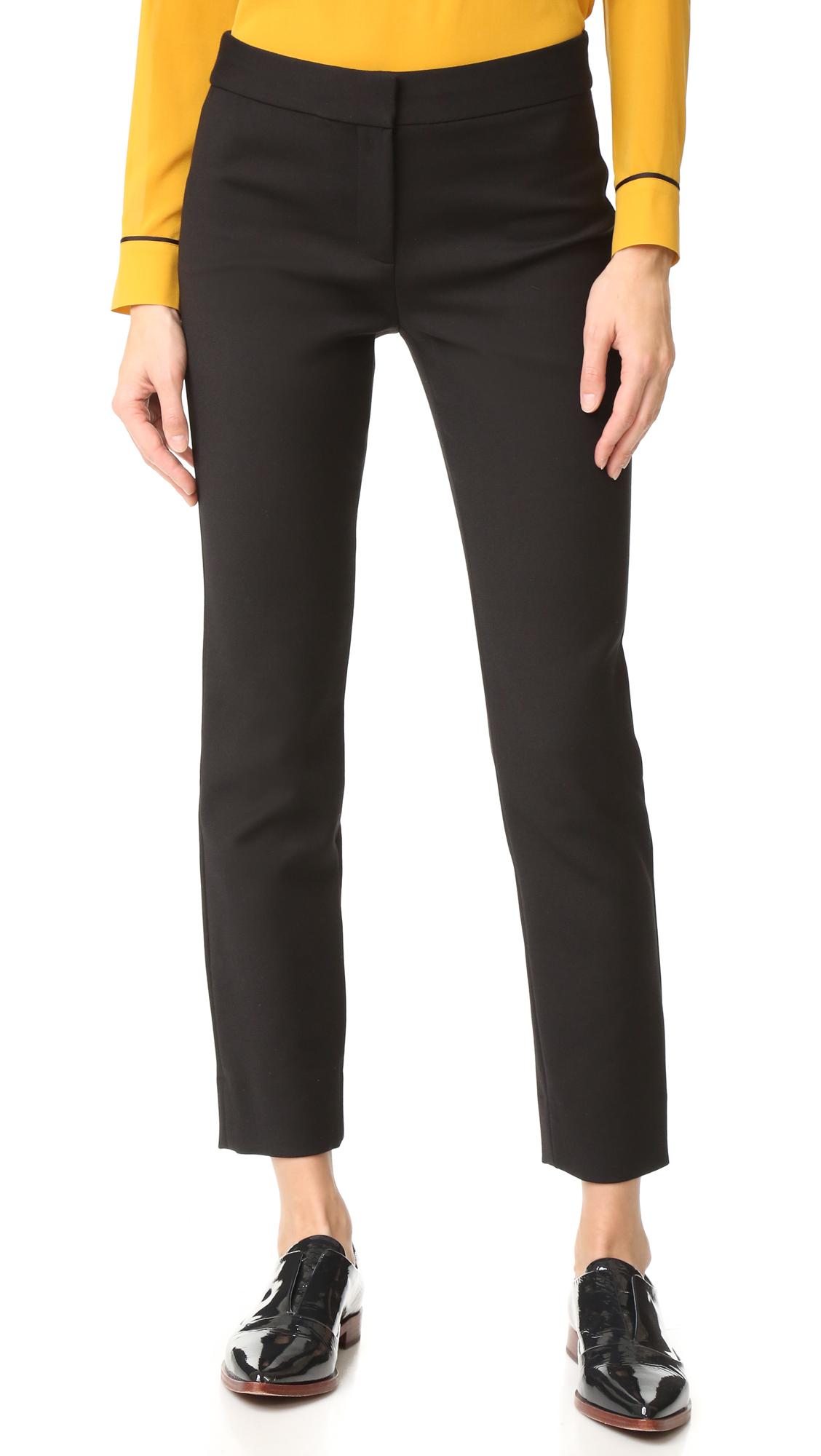 diane von furstenberg female diane von furstenberg jodie pants black