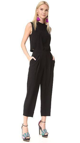 Diane von Furstenberg Tali Jumpsuit - Black