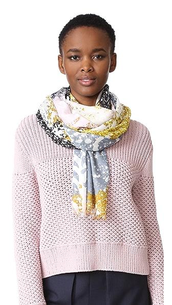 Diane von Furstenberg Кашемировый шарф Grace Stella Fresco