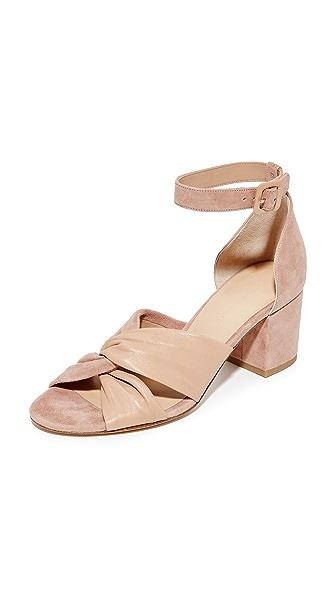 Diane von Furstenberg Pasadena City Sandals - Powder