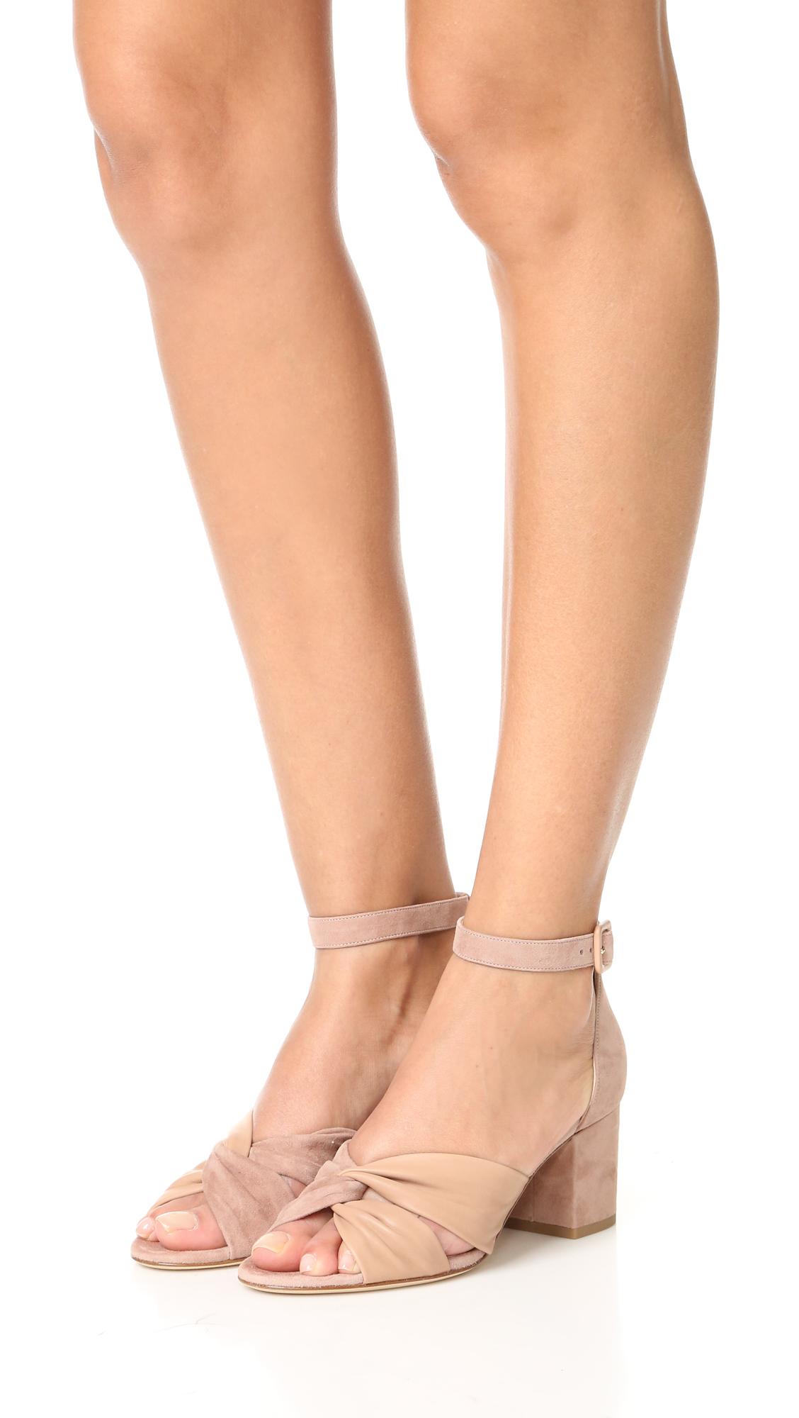 Diane von Furstenberg Pasadena Suede Sandals cheap sale best store to get discount sast buy cheap geniue stockist egDm1