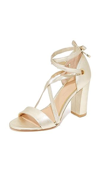 Diane von Furstenberg Calabar Sandals - Gold