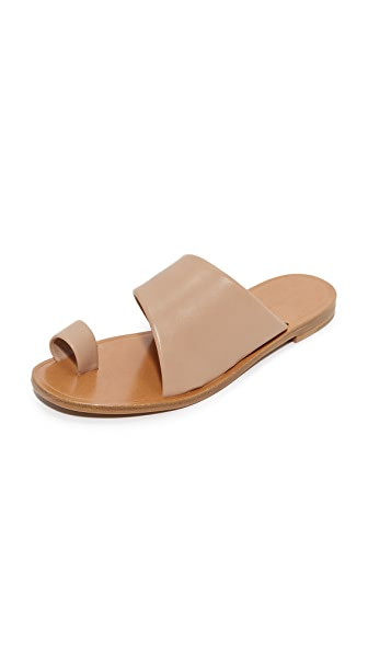 Diane von Furstenberg Ello Toe Ring Sandals - Powder