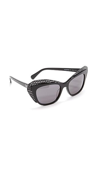Diane von Furstenberg Солнцезащитные очки «кошачий глаз» Alexa