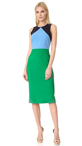 Diane Von Furstenberg Sleeveless Midi Dress Shopbop