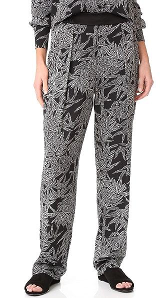 Diane von Furstenberg Мягкие брюки без застежки
