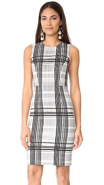 Diane von Furstenberg Sleeveless Tailored Dress