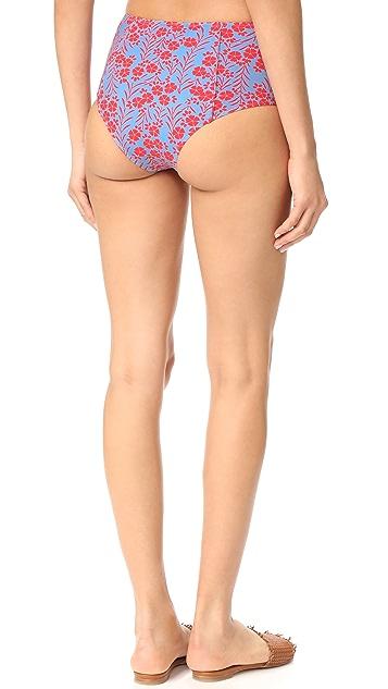 Diane von Furstenberg High Waisted Bikini Bottoms
