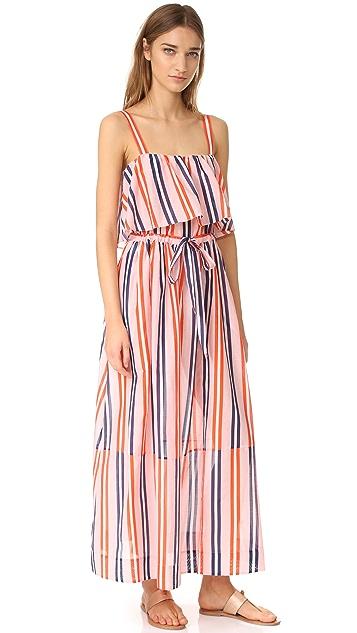 Diane von Furstenberg Two Tier Sleeveless Dress