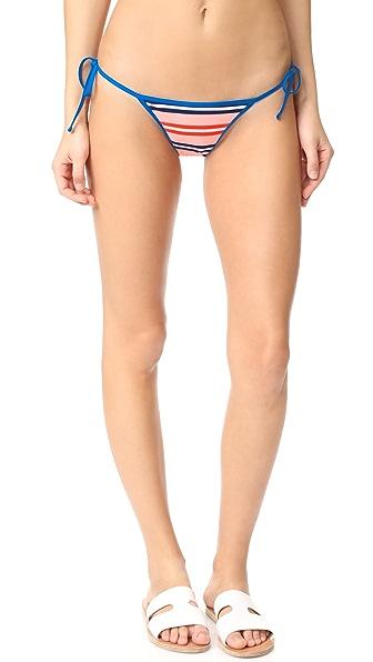 Diane von Furstenberg Двусторонние плавки бикини с завязками