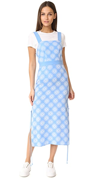 Diane von Furstenberg Sleeveless Cross Neck Dress