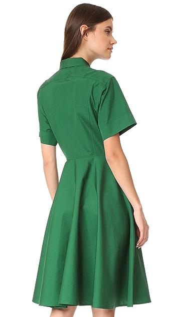 Diane von Furstenberg Collared Shirtdress
