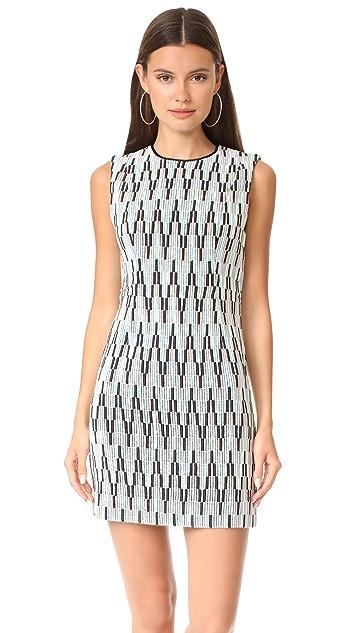 Diane von Furstenberg Sleeveless Tailored Mini Dress