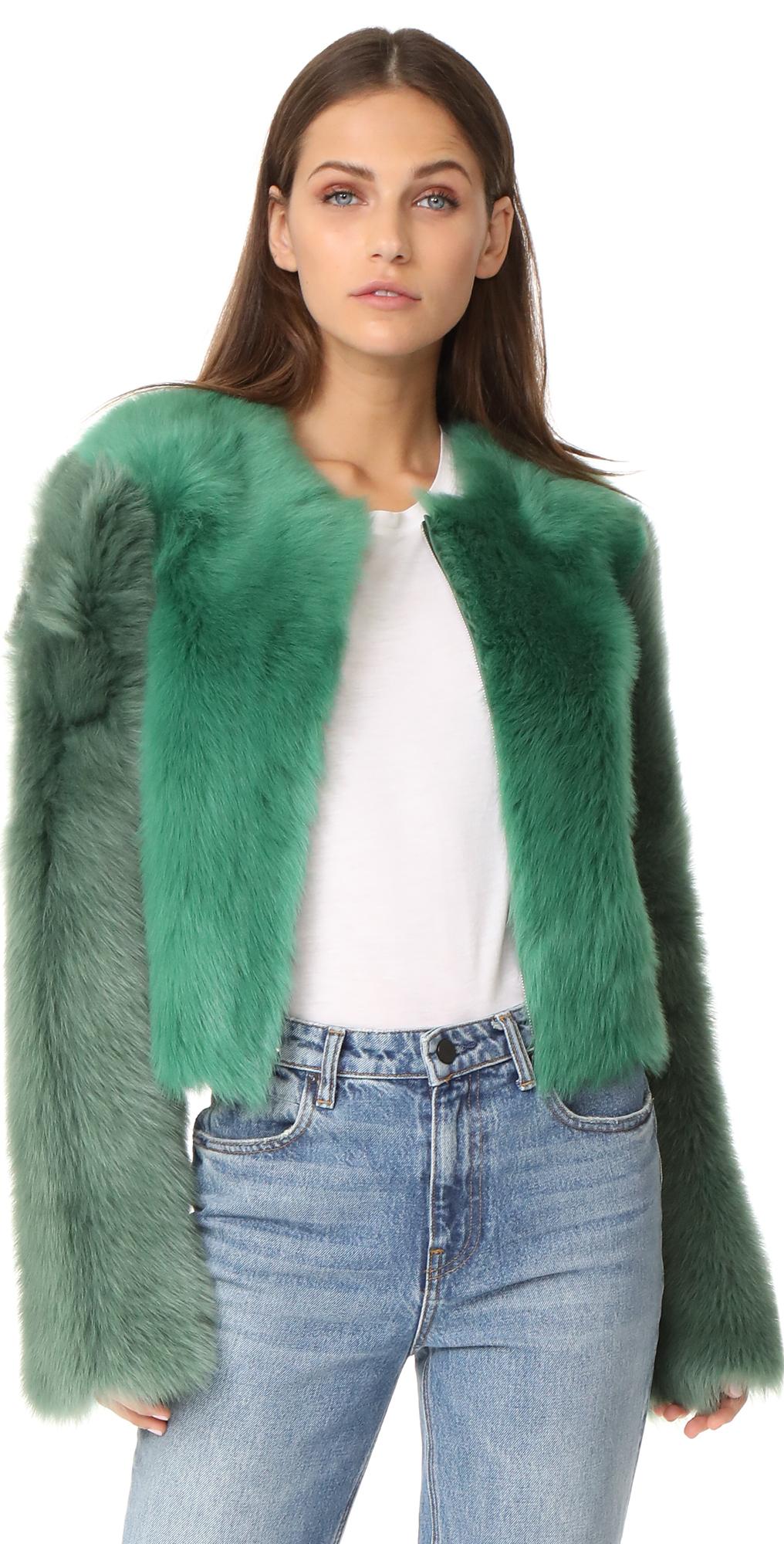 Fur Jacket Diane von Furstenberg