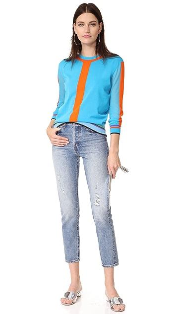 Diane von Furstenberg Crew Neck Pullover
