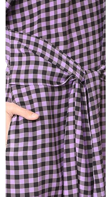 Diane von Furstenberg Tie Waist Dress