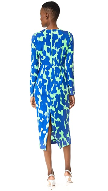 Diane von Furstenberg Tailored Midi Dress