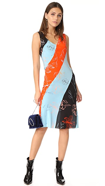 Diane von Furstenberg Bias Midi Dress