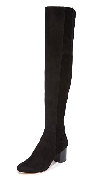 Diane von Furstenberg Luzzi Over the Knee Boots In Black