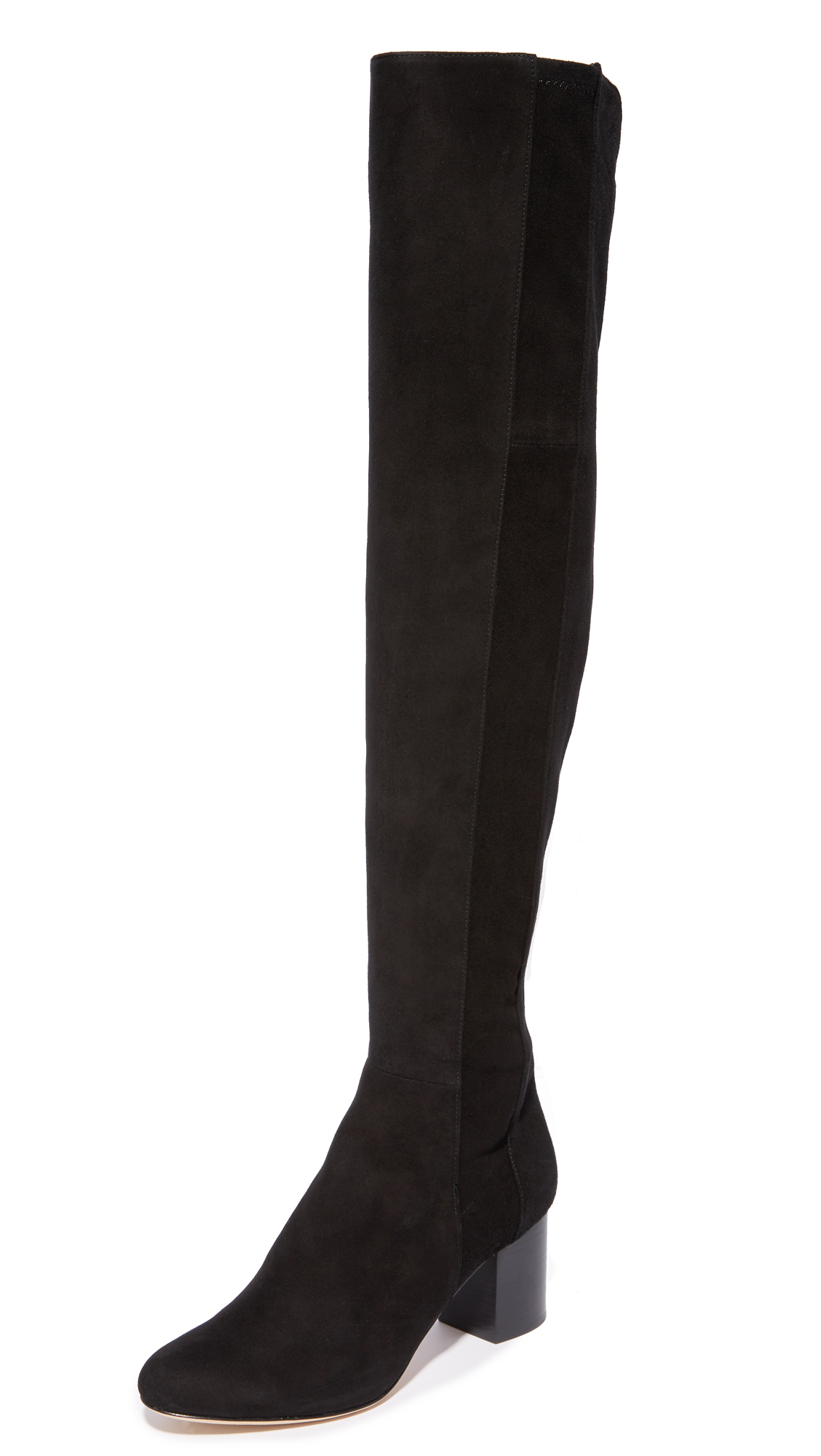 Diane von Furstenberg Luzzi Over the Knee Boots - Black