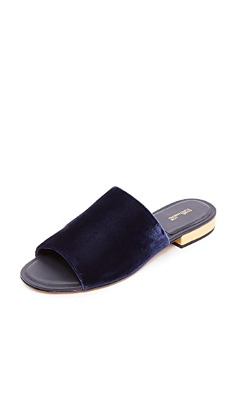 Diane von Furstenberg Samassi Slide Sandals - Midnight