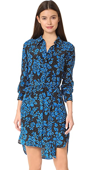 Diane von Furstenberg Flower Shirtdress at Shopbop