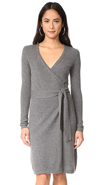 Diane von Furstenberg New Linda Cashmere Wrap Dress at Shopbop