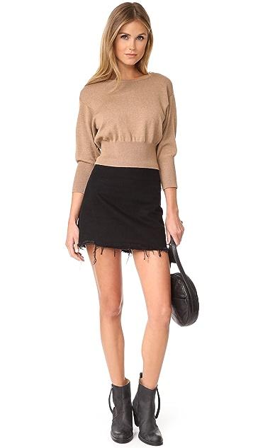 Diane von Furstenberg Crew Neck Knit Pullover