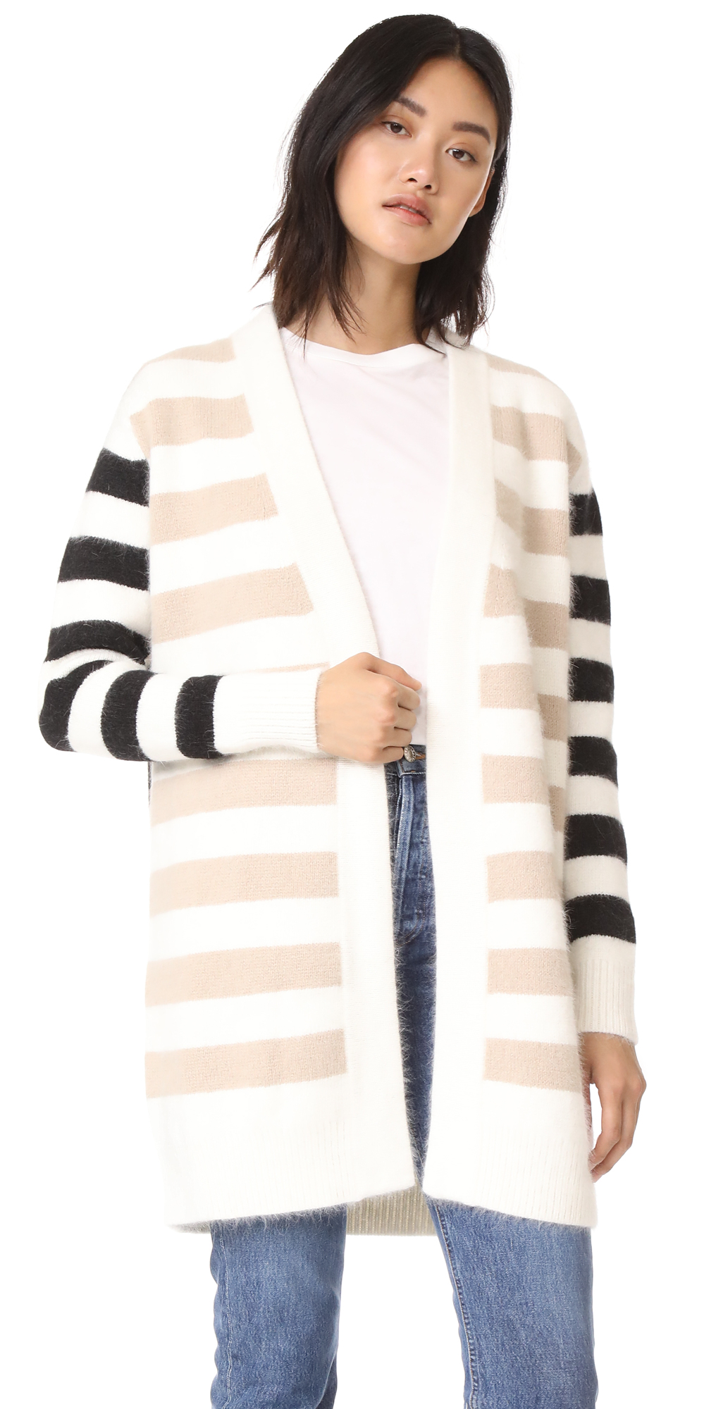 Striped Cardigan Diane von Furstenberg