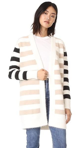 Diane von Furstenberg Striped Cardigan