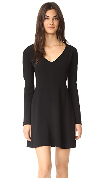 Diane von Furstenberg V Neck Flare Dress at Shopbop